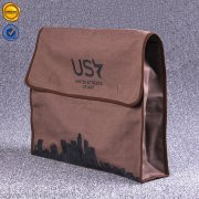 Non woven pouch with hook and loop closure SFB-SF1-01