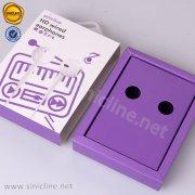 Sinicline earphone packaging box BX249