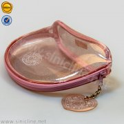 Custom bling clear zipper lock bag for makeup SNWG-SZHZ-054