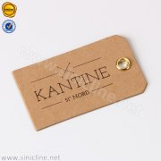 Kraft Paper Hangtag with Metal Blow Hole ADHT-KAN5-001