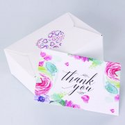 Freehand Sketching Thank You Card KRTC-SN-03