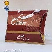 Sinicline Custom Pillow Box For Socks ADPB-BA8-002