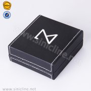 Sinicline Leather Packaging Box For Jewelry JEPX-NEM-009