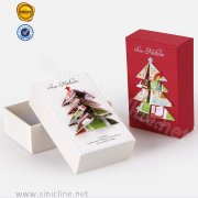 Sinicline Lid and Tray Packaging Box for Christmas
