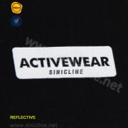 Tagless Iron On Clothing Labels For Activewear SNTL-TT-032