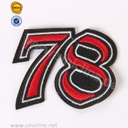 Sinicline Custom Embroidery Number Patch SNEM-FY-061
