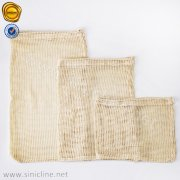 Eco Organic Cotton Drawstring Mesh Bags SNCT-OLHB-K407