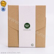 Eco Rice Husk Paper Box with Barley Paper Sleeve SNCT-OLHB-K404