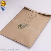 Eco Jute Paper Bag with Closure SNCT-OLHB-K405B