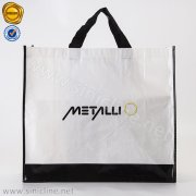 Laminated rPET Reusable Shopping Bag from Recycled Plastic SNHB-QHKL-025