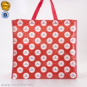 Recycle Rpet Laminated Nonwoven Shopping Tote Bag SNHB-QHKL-028